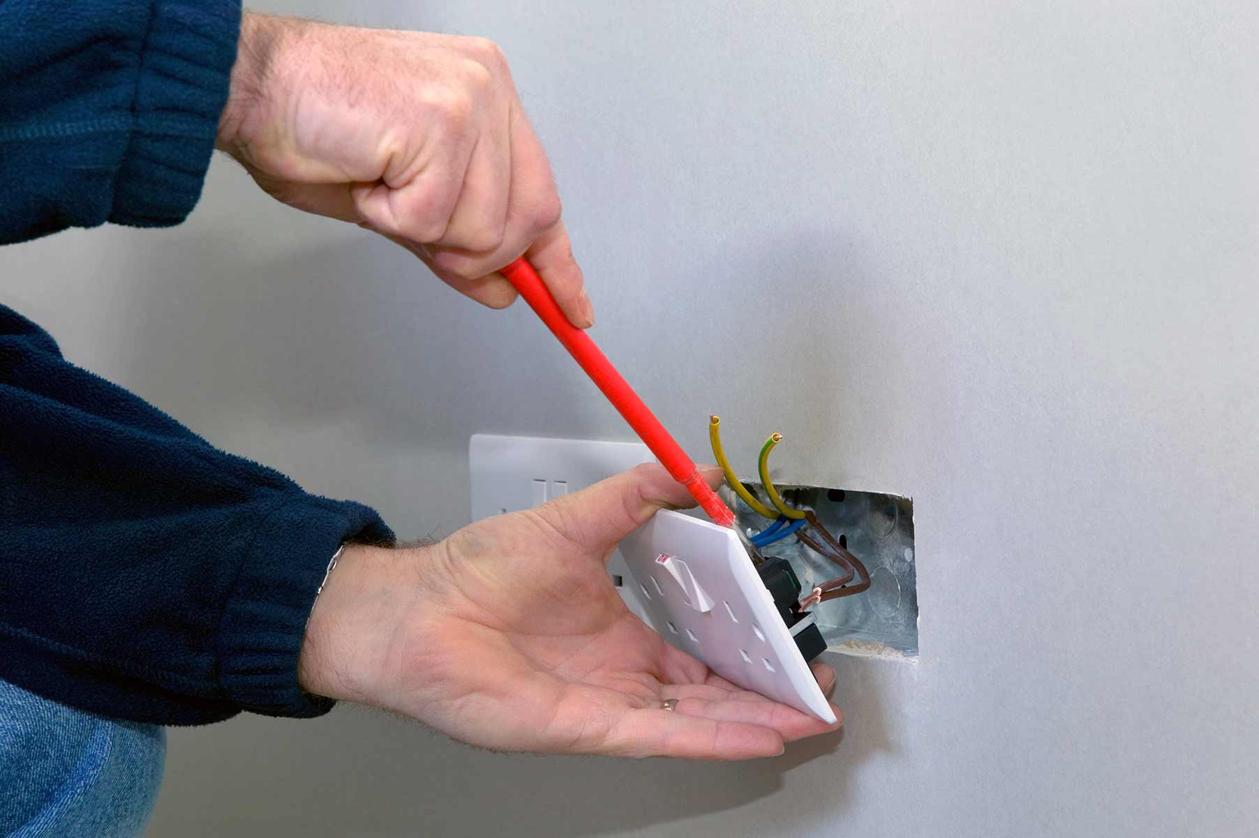 Our electricians can install plug sockets for domestic and commercial proeprties in Ealing and the local area.